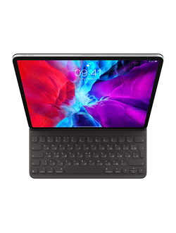"Чехол-клавиатура Apple Smart Keyboard Folio для iPad Pro 12,9"" (2020), черный в  iStore-Moscow"