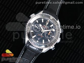 Planet Ocean Master Chronometer Black