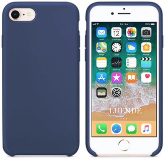 iPhone 7 Silicone Case темно-синий