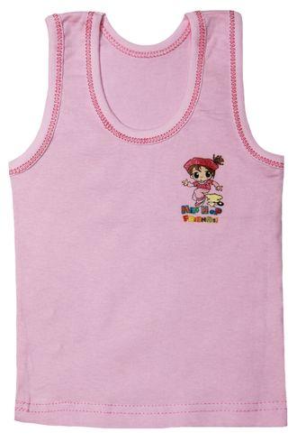 Майка для девочки (Артикул 130-022) цвет розовый