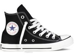converse chuck taylor all star hi black 01