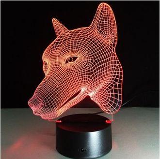 3D Ночной светильник