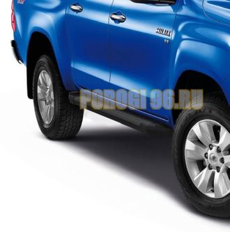 Пороги на Toyota Hilux (2011-2015) Black Start