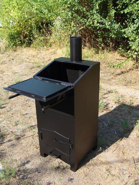 Печь для сжигания мусора Хозяйка