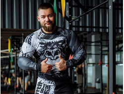 "Рашгард DICH: Rashguard ""MonkeyBusiness"""