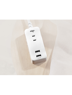 Удлинитель зарядка Xiaomi Patriot 10.5W three-position plug-in board (2 USB ports)