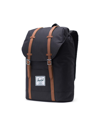 Рюкзак Herschel Retreat Black/Tan Synthetic Leather