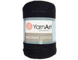 Macrame cotton 770 черный