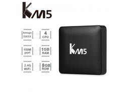 Смарт приставка КМ5 Invin (ANDROID TV BOX)