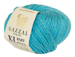 Gazzal Baby Wool XL 820 голубой