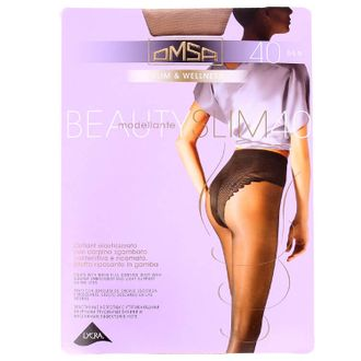 Beauty Slim 40-OMSA, 3 caramello