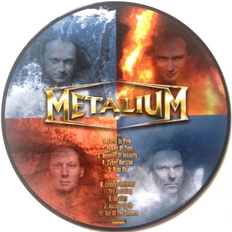 Metalium - Demons Of Insanity LP Picture