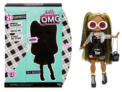 MGA Entertainment Кукла L.O.L. Surprise OMG Series 2 - Alt Grrrl Fashion Doll с 20 сюрпризами, 565123