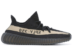 КРОССОВКИ ADIDAS YEEZY BOOST 350 V2 BLACK & WHITE