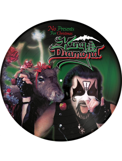 "KING DIAMOND No Presents for Christmas 12"" PICTURE"