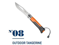 Нож Opinel №08 Outdoor Orange