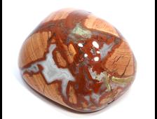 Яшма брекчиевая, полировка, ЮАР (75*58*42 мм, 312 г) №21154