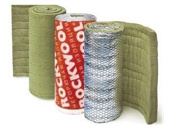 ROCKWOOL ALU WIRED MAT