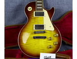 Gibson Les Paul Traditional Amber Burst Flame Top AAA