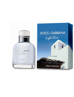 "Мужской парфюм Dolce And Gabbana ""Light Blue Living Stromboli Pour Homme"", объем 100 мл"
