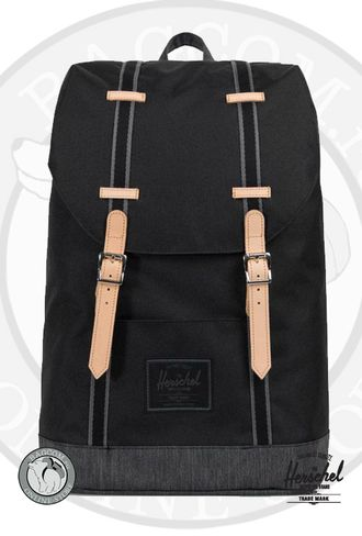 Herschel Retreat Black/Black Denim