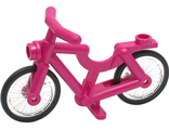 Bicycle 1-Piece Wheels, Magenta (4719c02)