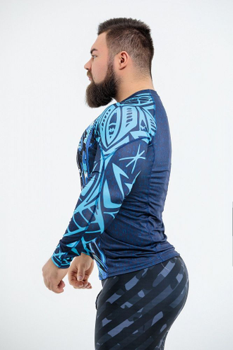 "Рашгард DICH: Rashguard ""Warrior Spirit"""