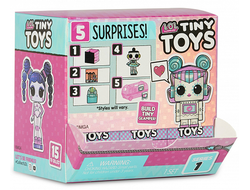 MGA Entertainment L.O.L. Surprise Tiny Toys Тини Тойз Мини куклы-роботы ЛОЛ с детальками мини-глемпера, 565796