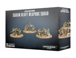 Warhammer 40000: Astra Militarum Cadian Heavy Weapon Squad