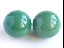 Шар Авантюрин зеленый