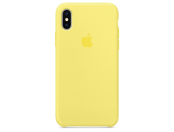 Чехол-накладка Apple Silicone Case iPhone Lemonade