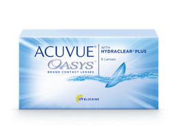 ACUVUE® OASYS with HYDRACLEAR® PLUS (6 линз)