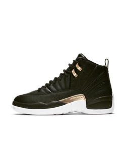 Air Jordan 12 Reptile Black Metallic Gold Ao6068-007