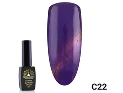 Гель-лак Global Fashion cat eye C22