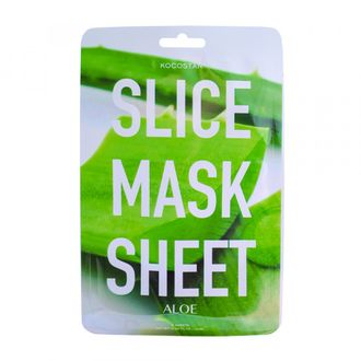 "Маска-слайс для лица ""Алоэ Вера"" SLICE MASK SHEET (ALOE)"