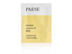 Саше-пробник VITAMIN C 10% BRIGHTENING REJUVENATING SERUM PAESE