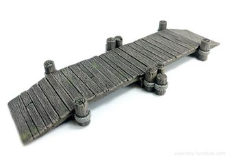 Wooden bridge (PAINTED)