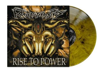 Monstrosity - Rise To Power LP colored