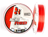 Зимняя леска BAT ICE-RED 30м. 0.16мм. тест 3.40кг.