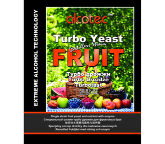 ДРОЖЖИ ALCOTEC FRUIT TURBO YEAST