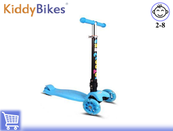 САМОКАТ SCOOTER SUPER (СИНИЙ) Kiddy-bikes