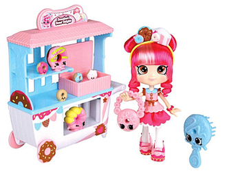 Кукла Шопкинс Шоппиес - Донатина - Shopkins Shoppies Donatina's Donut Delights