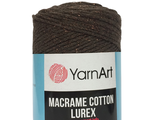 Пряжа Macrame cotton Lurex