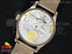 Portuguese Real PR RG IW5001 YLF Best Edition White Dial on RG Mesh Bracelet