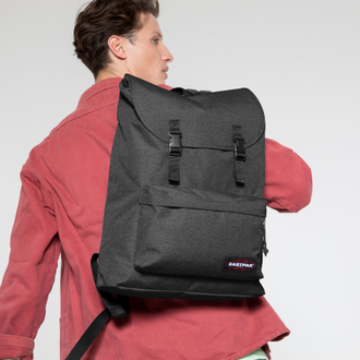 Eastpak London + Black Denim на парне