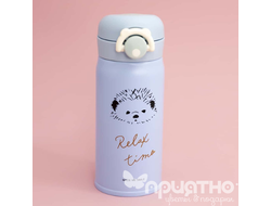 "Термос ""Relax time"", blue (350ml)"