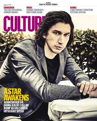 The Sunday Times Culture Magazine 13 August 2017 Adam Driver, Star Wars Cover Иностранные зарубежные