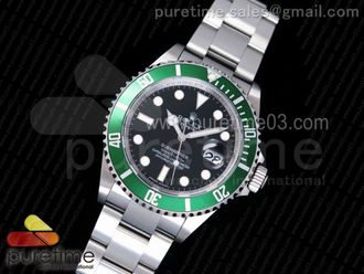 Submariner 16610 LV Green Metal Bezel