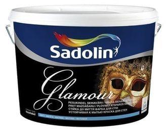 Краска для стен и потолков Садолин Инова Гламур Sadolin INOVA GLAMOUR