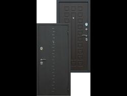 Стальная дверь асд «АГАТА-3»  Венге